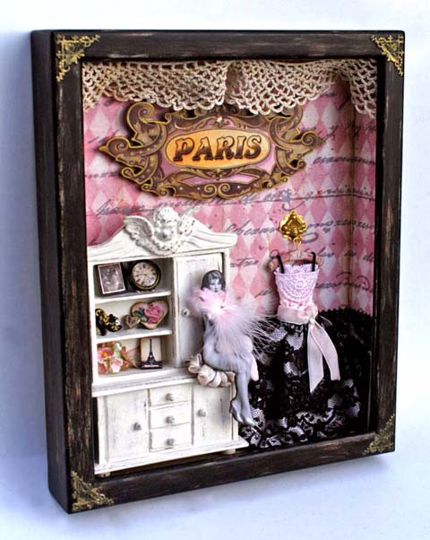 Paris Shadow Box